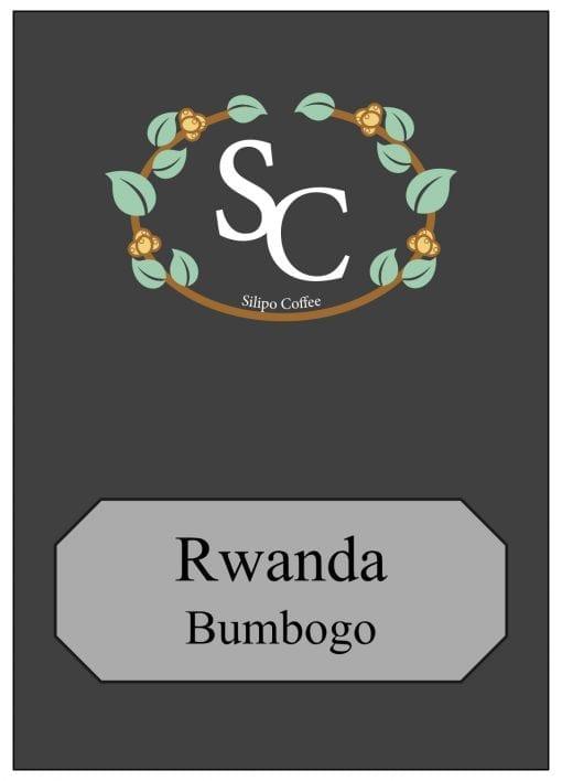 Rwanda Label 1kg Black