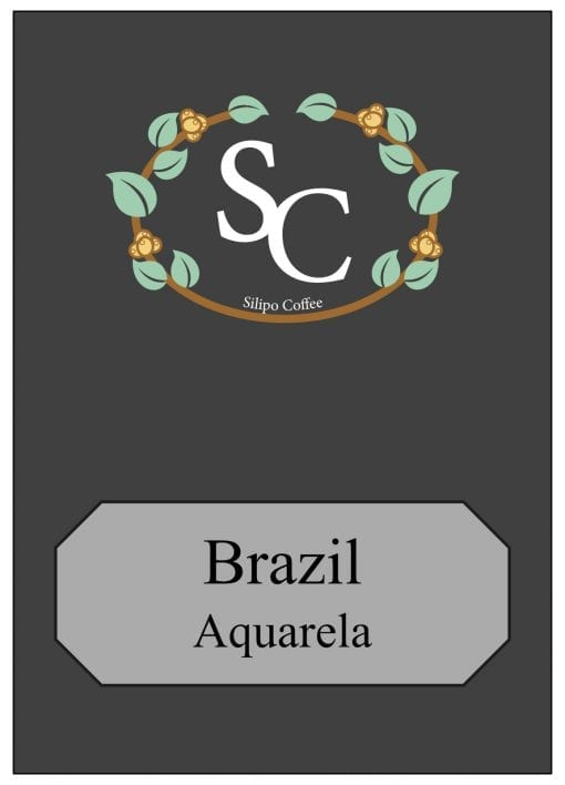 Brazil Single Origin Coffee Label