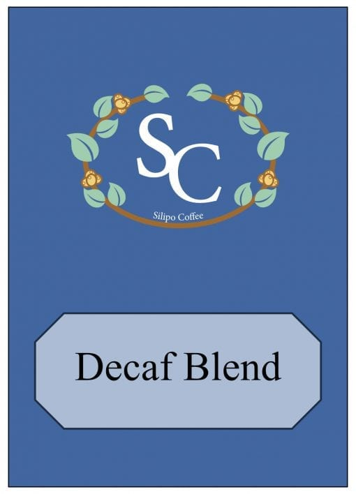Decaf Coffee Blend Label