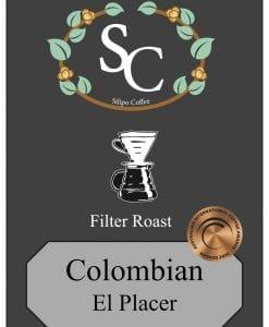 Colombian El Placer Filter
