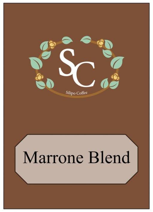 Marrone Coffee Blend Label