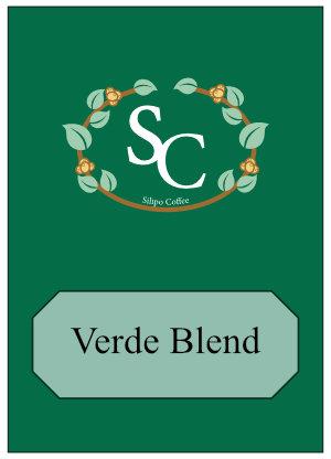 Verde Coffee Blend Label