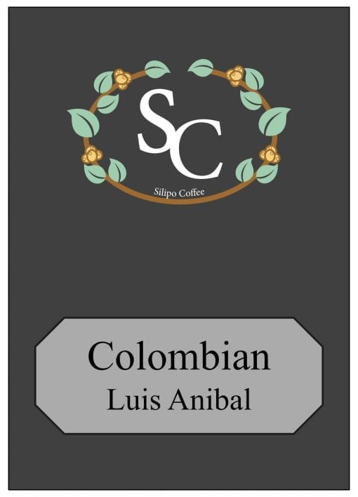Colombian Label 1kg Black
