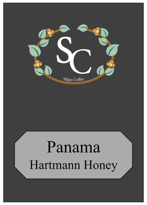 Panama Hartmann Honey Single Origin Label